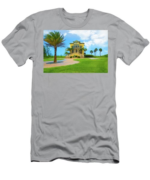 Men's T-Shirt (Athletic Fit) featuring the photograph Coastal Living by John M Bailey
