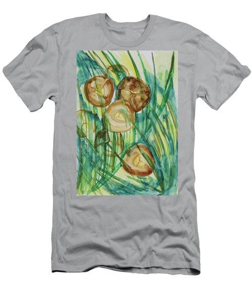 Coconut Tree Men's T-Shirt (Athletic Fit)