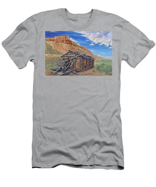Colorado Prarie Cabin Men's T-Shirt (Athletic Fit)