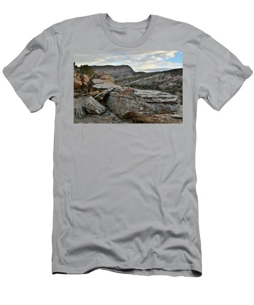 Colorful Overhang In Colorado National Monument Men's T-Shirt (Athletic Fit)