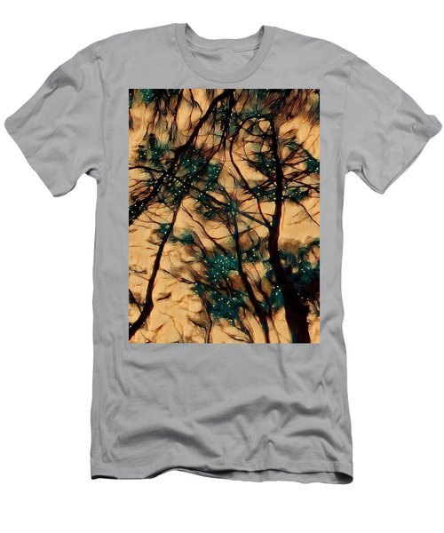 Men's T-Shirt (Athletic Fit) featuring the digital art  Colors And Spirit  by Lucia Sirna