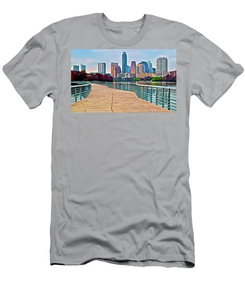 Come To Austin Texas Men's T-Shirt (Athletic Fit)