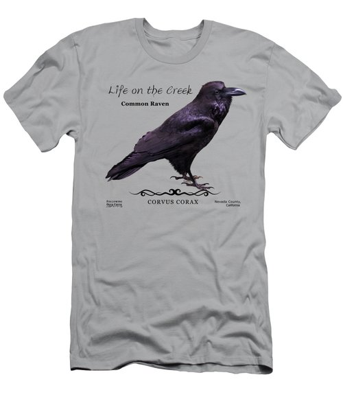 Common Raven Men's T-Shirt (Athletic Fit)