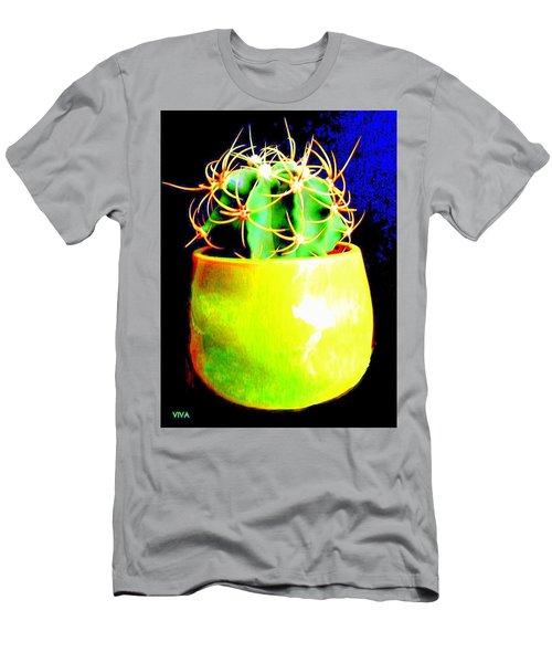 Contemporary Cactus Men's T-Shirt (Athletic Fit)