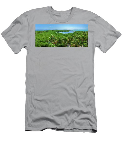 Contoy Island Men's T-Shirt (Athletic Fit)