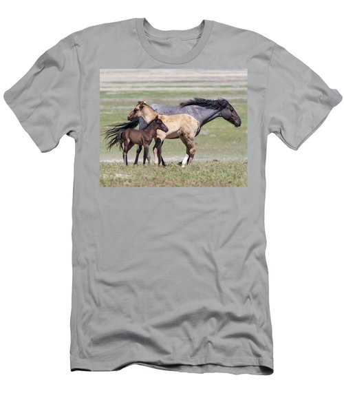 Contrasts Men's T-Shirt (Athletic Fit)