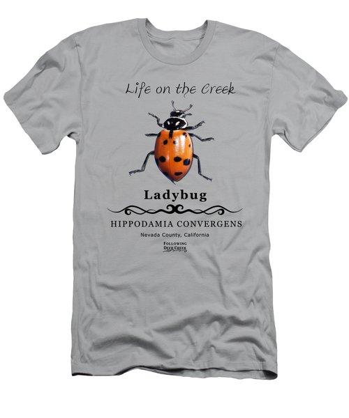 Convergens Ladybug Men's T-Shirt (Athletic Fit)