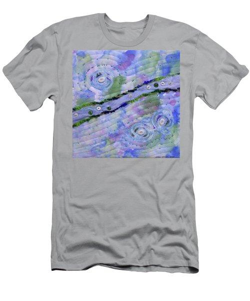 Cosmic Stream Men's T-Shirt (Athletic Fit)