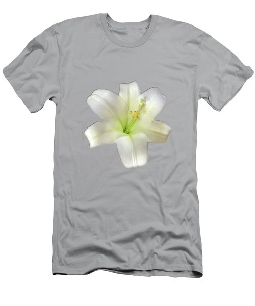 Cotton Seed Lilies Men's T-Shirt (Athletic Fit)