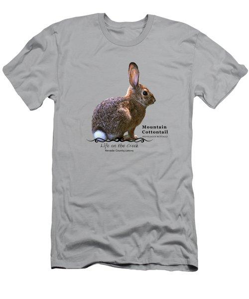 Cottontail Rabbit Men's T-Shirt (Athletic Fit)