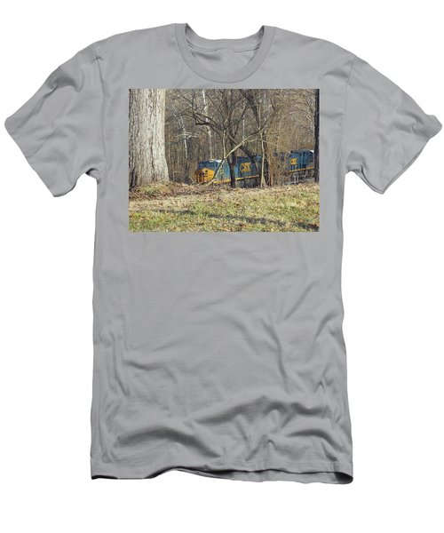 Country Train Men's T-Shirt (Athletic Fit)