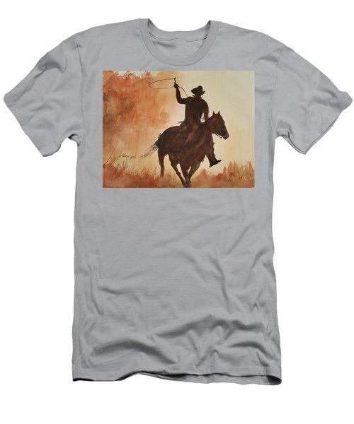 Cowboy Hero Men's T-Shirt (Athletic Fit)