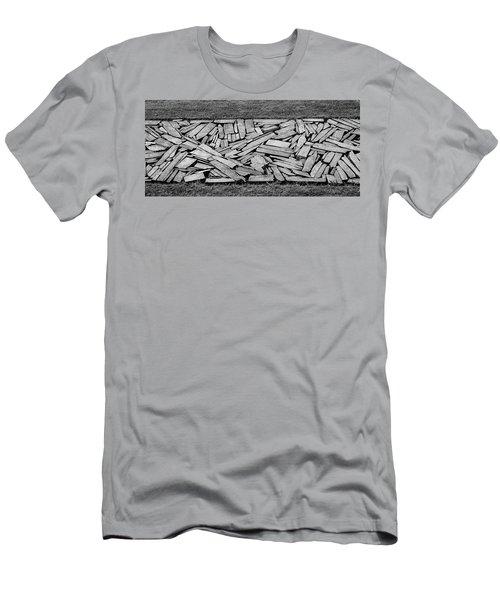 Crazy Paving Men's T-Shirt (Athletic Fit)