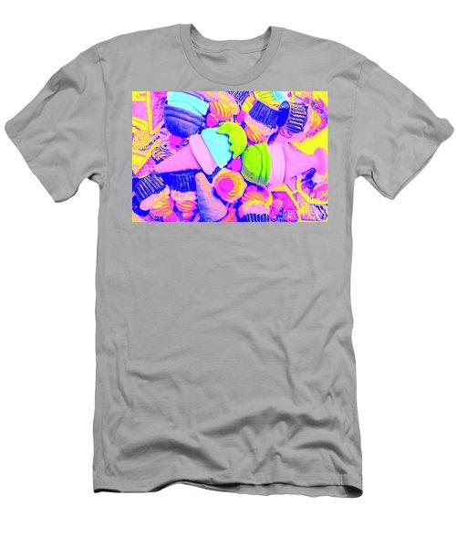 Creme De La Ice-cream Men's T-Shirt (Athletic Fit)