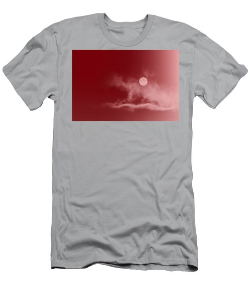 Crimson Sky Men's T-Shirt (Athletic Fit)