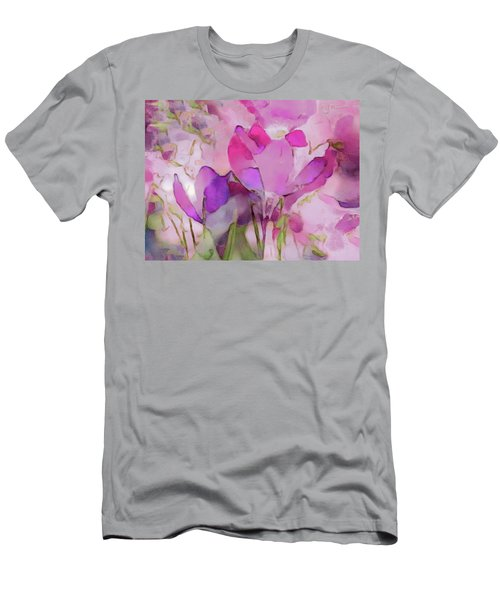 Crocus So Pink Men's T-Shirt (Athletic Fit)
