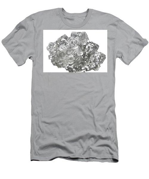 Cubic Salt Crystal Aggregate  Men's T-Shirt (Athletic Fit)