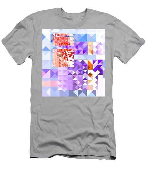 Men's T-Shirt (Athletic Fit) featuring the painting Da9 Da9473 by Arttantra