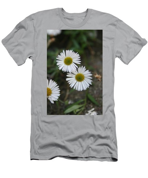 Daisy Daisy And Your White Petal Minding The Sun Core Men's T-Shirt (Athletic Fit)