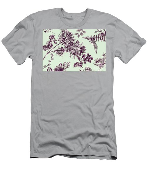 Dandelion Design Men's T-Shirt (Athletic Fit)