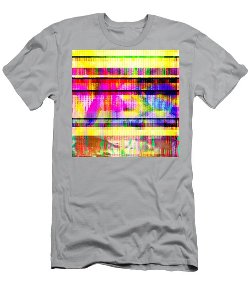 Databending #2 Hidden Messages Men's T-Shirt (Athletic Fit)