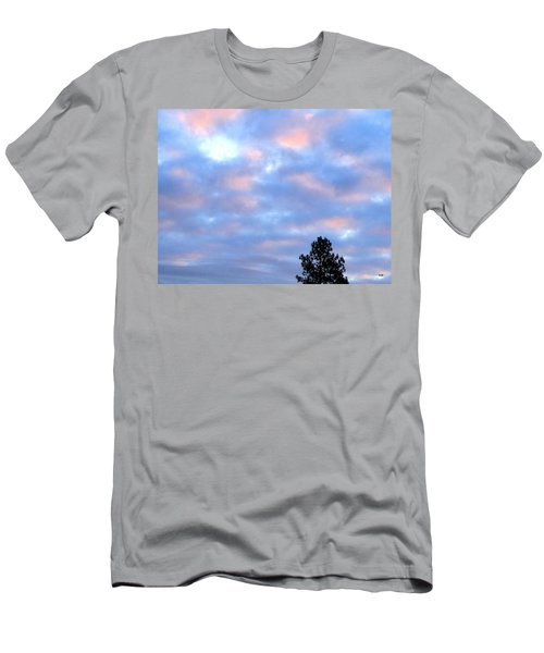 December Pastel Sunset Men's T-Shirt (Athletic Fit)