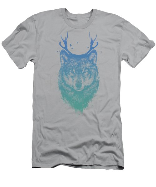 Deer Wolf Men's T-Shirt (Athletic Fit)