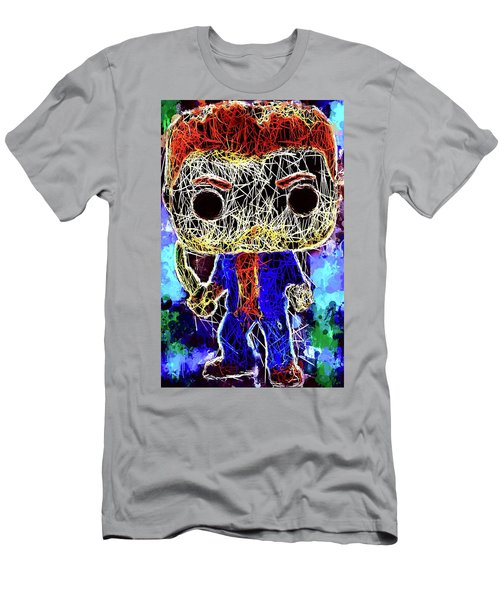 Men's T-Shirt (Athletic Fit) featuring the mixed media Dean Winchester Supernatural by Al Matra