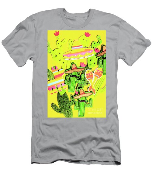 Desertly Decorated Men's T-Shirt (Athletic Fit)
