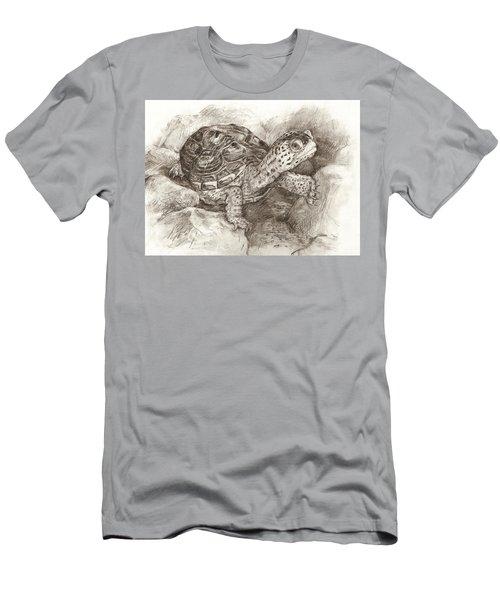 Diamondback Terrapin Men's T-Shirt (Athletic Fit)