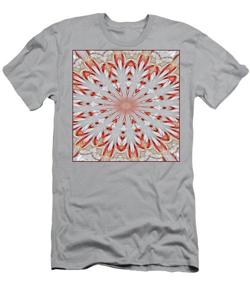 Digitalized Cardinal Men's T-Shirt (Athletic Fit)