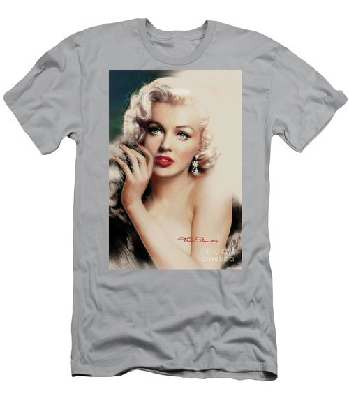 Diva Mm 169 Rose Men's T-Shirt (Athletic Fit)
