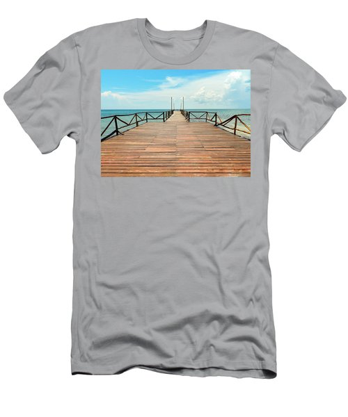Dock To Infinity Men's T-Shirt (Athletic Fit)