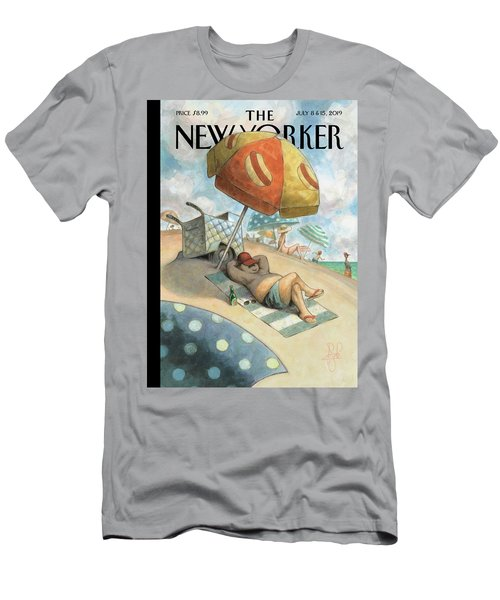 Dog Days Of Summer Men's T-Shirt (Athletic Fit)