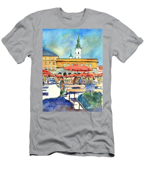 Dolce Market In Zagreb #1 Men's T-Shirt (Athletic Fit)