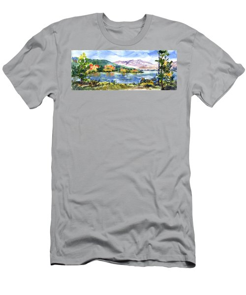 Donner Lake Fisherman Men's T-Shirt (Athletic Fit)