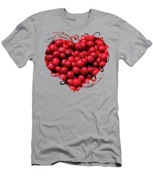 Door County Buckets Of Cherries Men's T-Shirt (Athletic Fit)