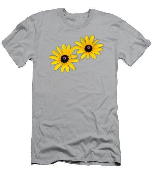 Double Daisies Men's T-Shirt (Athletic Fit)