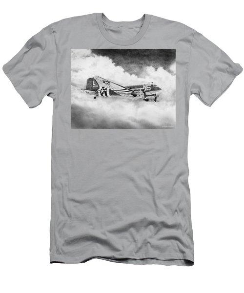 Douglas C-47 Men's T-Shirt (Athletic Fit)