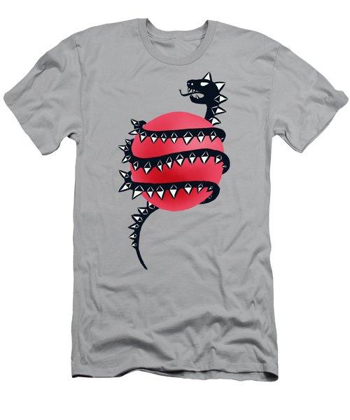 Dragon Snake Monster Men's T-Shirt (Athletic Fit)
