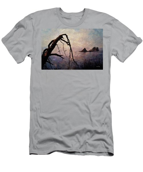 Men's T-Shirt (Athletic Fit) featuring the photograph Drama At Sunset by Randi Grace Nilsberg