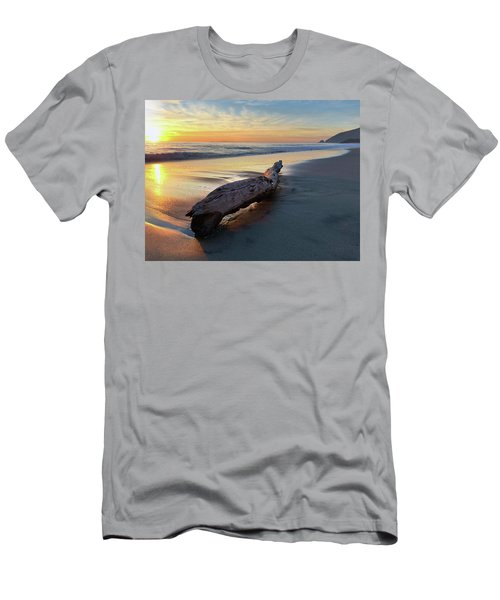 Drift Wood At Sunset II Men's T-Shirt (Athletic Fit)