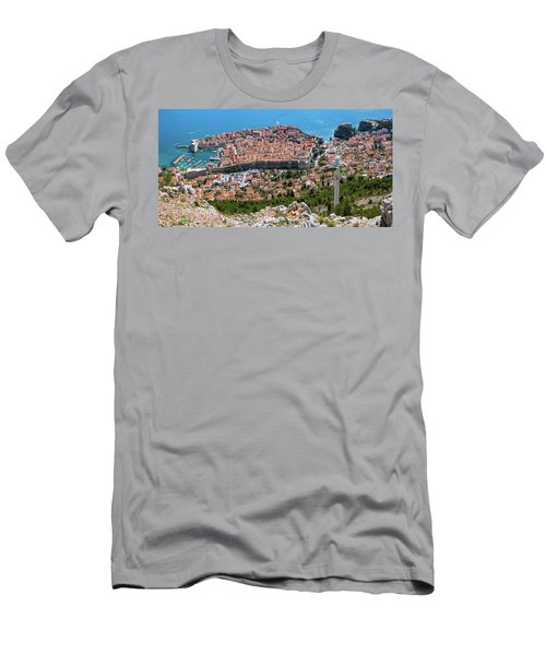 Dubrovnik Panorama From The Hill Men's T-Shirt (Athletic Fit)