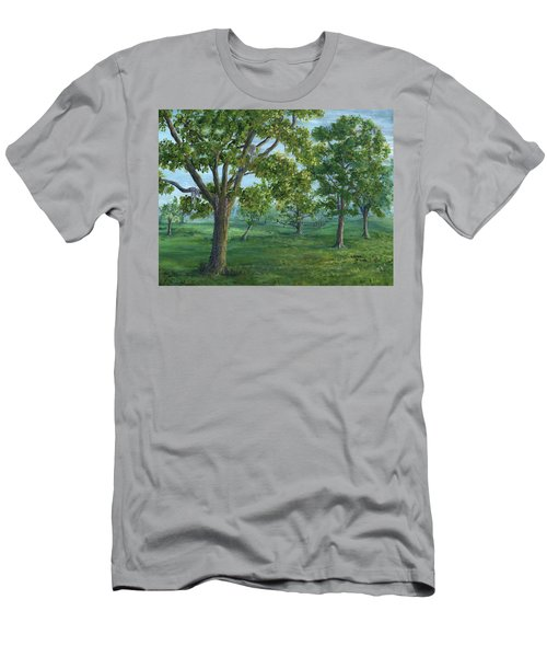 Dueling Grounds New Orleans Louisiana Men's T-Shirt (Athletic Fit)