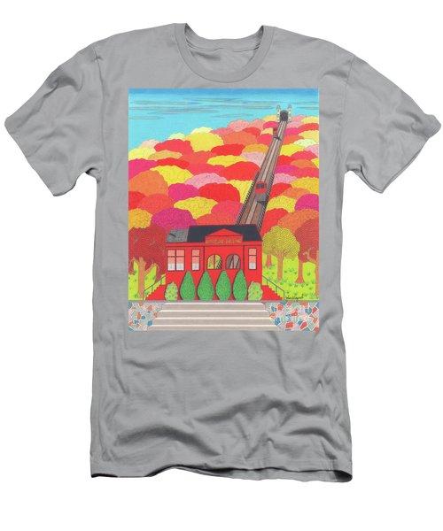 Duquesne Incline Men's T-Shirt (Athletic Fit)