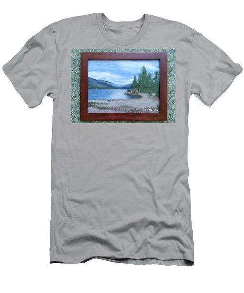 Dutch Harbour, Kootenay Lake Men's T-Shirt (Athletic Fit)