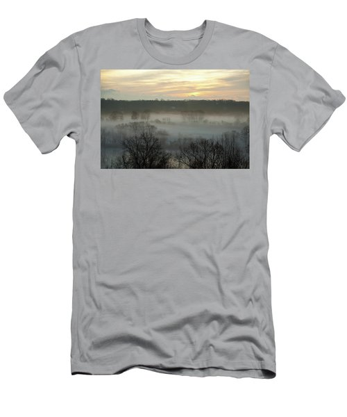 Early Morning On The Housatonic Men's T-Shirt (Athletic Fit)