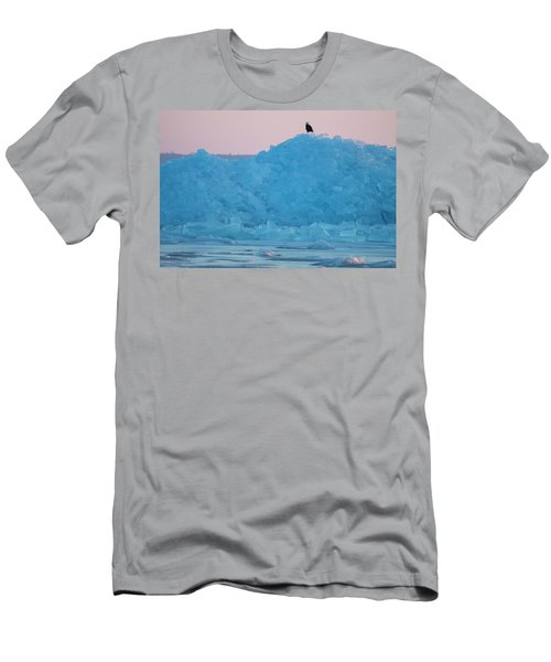 Eagle On Ice Mackinaw City 2261803 Men's T-Shirt (Athletic Fit)