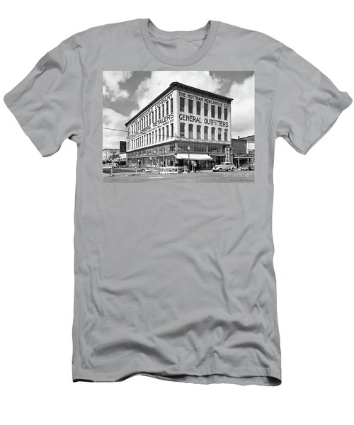 Earthquake Mottman Bldg, April 1949 Men's T-Shirt (Athletic Fit)