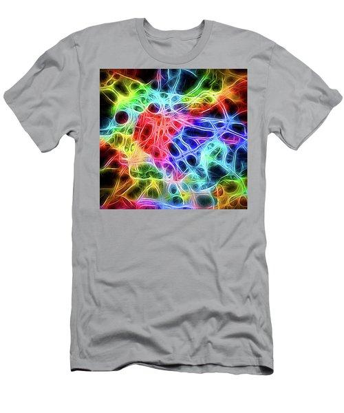 Electric Web Men's T-Shirt (Athletic Fit)